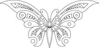 Resultado de imagen para mariposas para dibujar