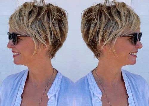 Splendid Short Haircuts For Older Women