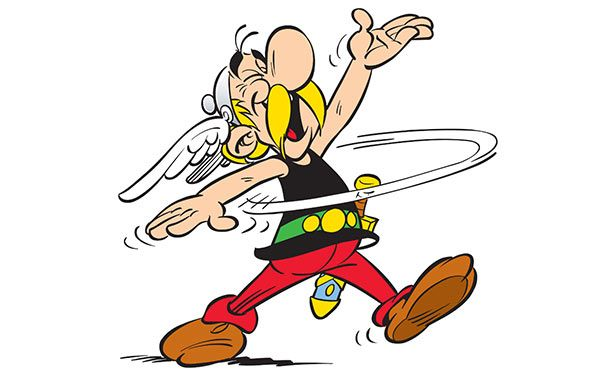 Asterix Kostüm selber machen