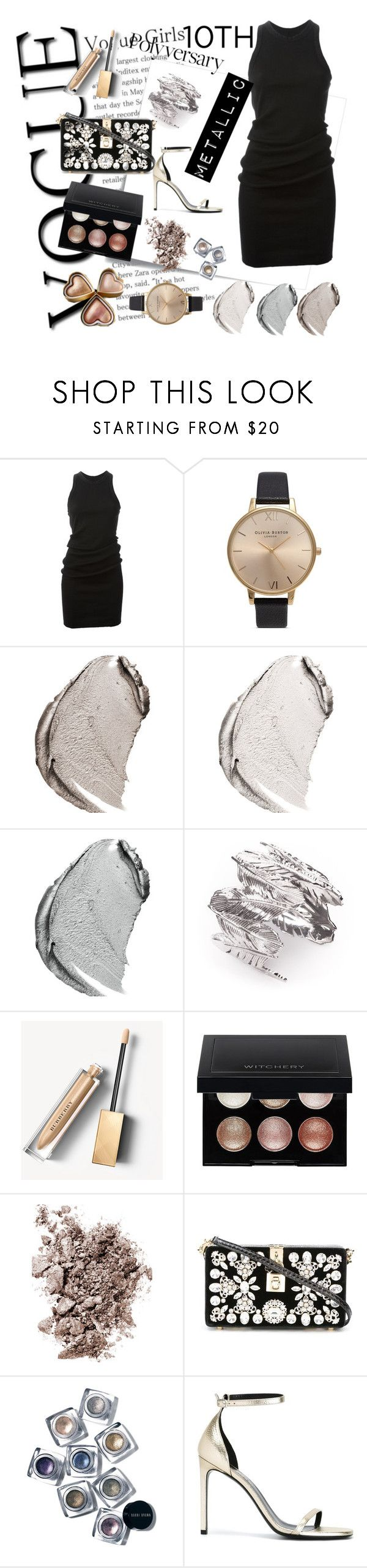 """""""Celebrate Our 10th Polyversary!"""" by r-bye ❤ liked on Polyvore featuring Post-It, DRKSHDW, Olivia Burton, Christian Dior, Joanna Laura Constantine, Burberry, Witchery, Yves Saint Laurent, Dolce&Gabbana and Bobbi Brown Cosmetics"""