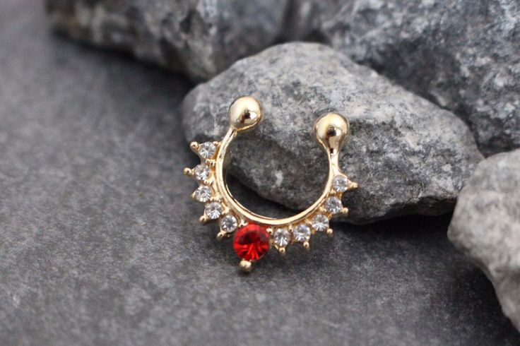 Product Information - Product Type: Fake Septum Ring - Total Size…