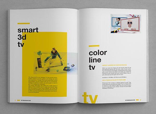 20 Modern Style Brochure Catalogue Template Design Ideas For Inspiration Brochure Idees Brochure Book Design Graphique