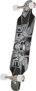 "Sector 9 Mini Shaka Grey Complete Longboard - 10.25x42.5 by Sector 9. Save 24 Off!. $175.78. Sector 9 Mini Shaka Grey Complete Longboard - 40.25"" L x 9.75"" W x 28.8"" WB - 10.0"" Gullwing Charger Trucks, 74mm 78a 2/3 Offset Nineball Wheels and Abec 5 PDP Bearings"