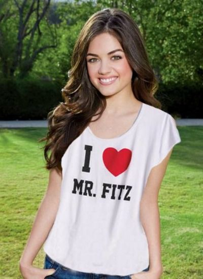 I Heart Mr. Fitz .... i need this top !!!!!!!!!