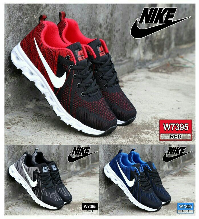 Sneaker Sport Shoes Nike W7395 Bahan Fabric Mesh Kualitas