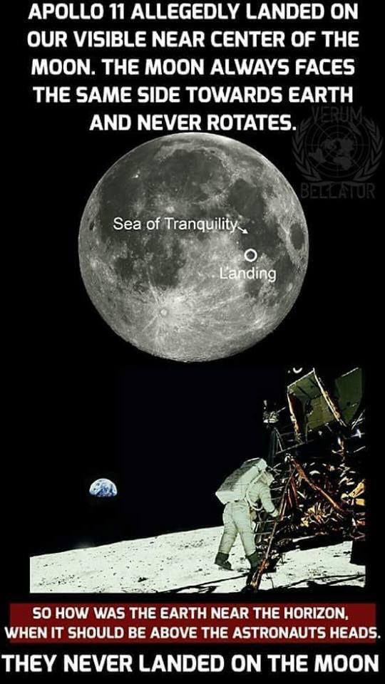 The moons rotation is about 27 days, same as its orbit around the Earth.   If the moon didn't rotate in geosynchronous relation to its orbit we would see its rotation on earth.  You can validate this with two balls. The position of the earth seen on the moon does not change much.  Details can be found at this link ->  http://starchild.gsfc.nasa.gov/docs/StarChild/questions/question58.html