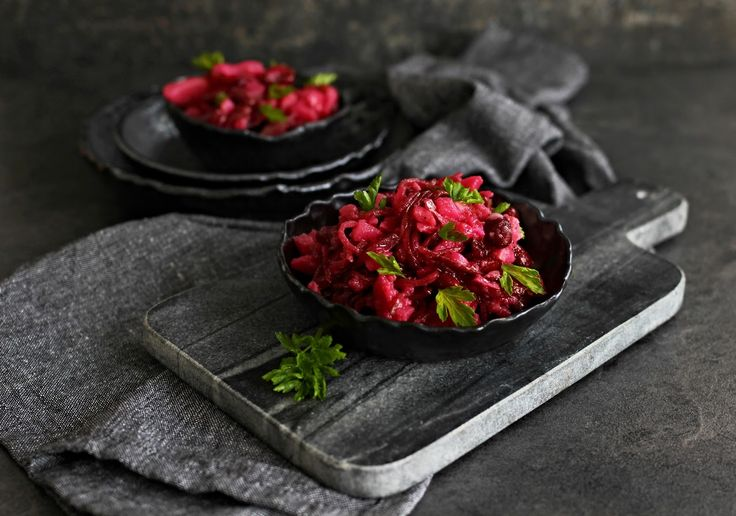 V kuchyni vždy otevřeno ...: Bramborový salát s fazolemi a řepou