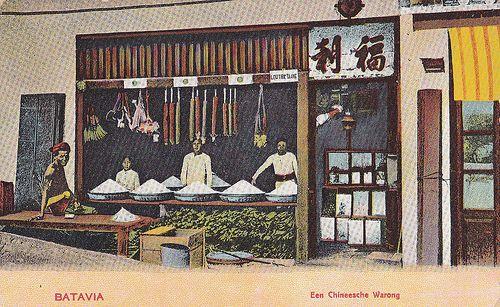 Tempo Doeloe #76 - Jakarta - Glodok, Warung Cina, 1908