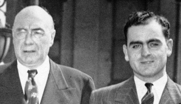 Enoch L. 'Nucky' Johnson boss of Atlantic City heads to prison 1st August 1941 (634 x 359)