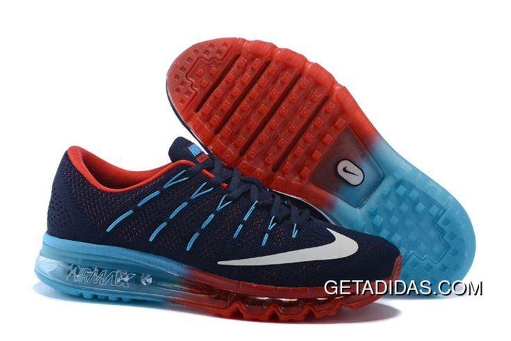 http://www.getadidas.com/air-max-flyknit-red-blue-grey-topdeals.html AIR MAX FLYKNIT RED BLUE GREY TOPDEALS Only $87.80 , Free Shipping!