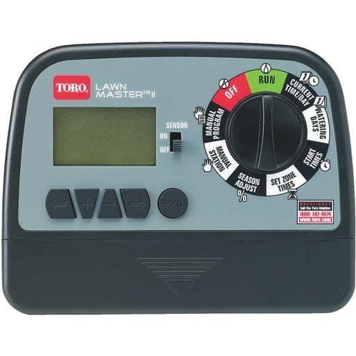 Toro Irrigation 6 Zone Electronic Timer 53806 Unit: Each, Gardening