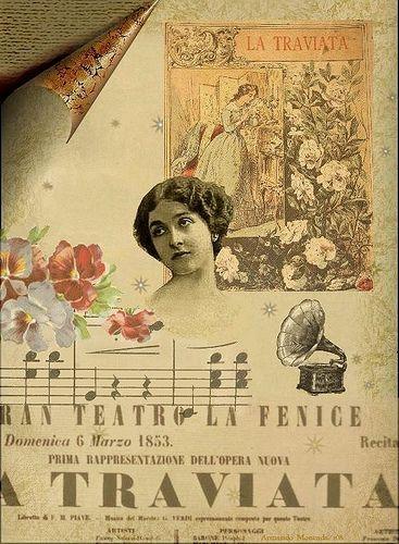 Lina Cavalieri la Traviata  El compositor de esta gran obra fue Giuseppe Verdi.