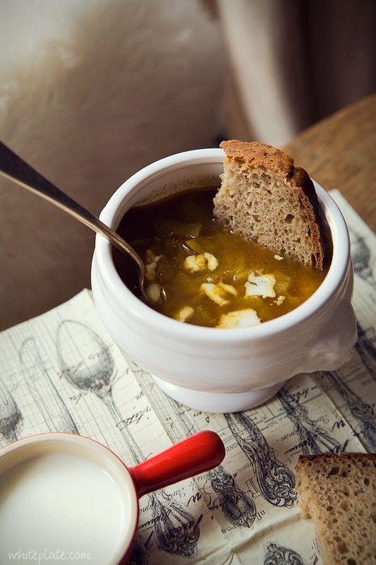 White Plate -zupa z soczewicy