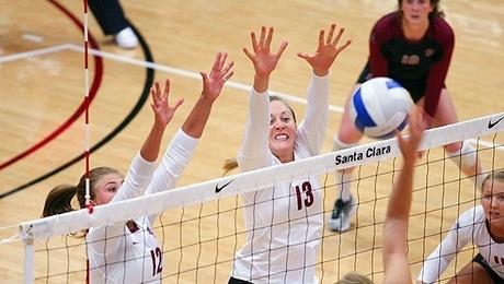 NCAA Women's Volleyball: Santa Clara University @ Leavey Center