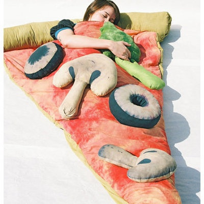 Pizza Sleeping Bag. I don't know what to say now.
