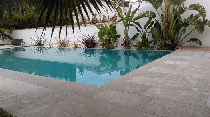 Resultado de imagen de plantillas hormigon impreso blanco piscina