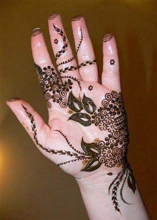 31 Popular Simple wedding mehndi | mehendi designs for