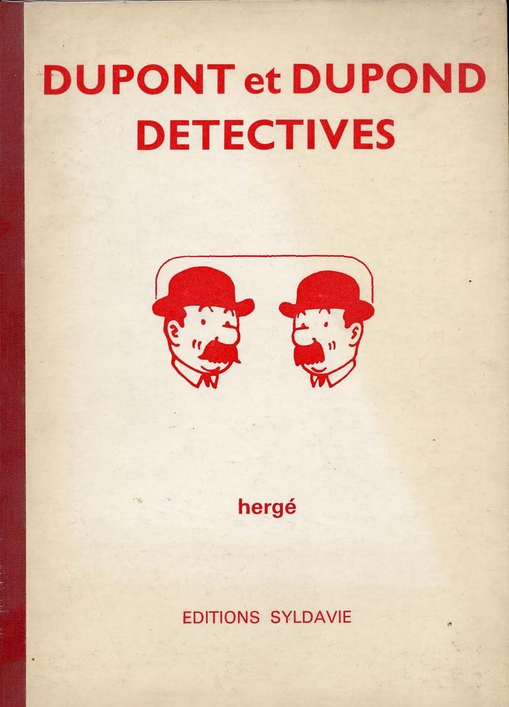 Dupont et Dupond détectives - Paul Kinnet—Hergé