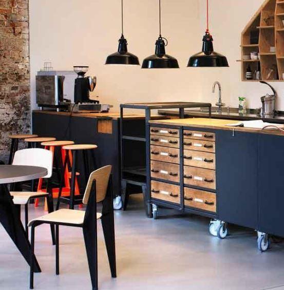 industriedesign kommode industrial style werkbank anrichte schubladenschrank b ro gesch ft. Black Bedroom Furniture Sets. Home Design Ideas