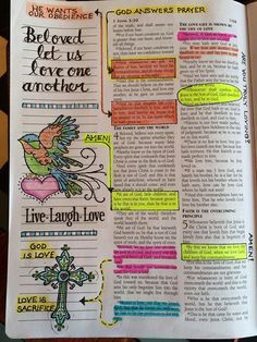 Bible Journalling.  I love this!  I've got my husband's wide margin Bible.  Leave behind a legacy of verses that speak to you for your children and grandchildren.