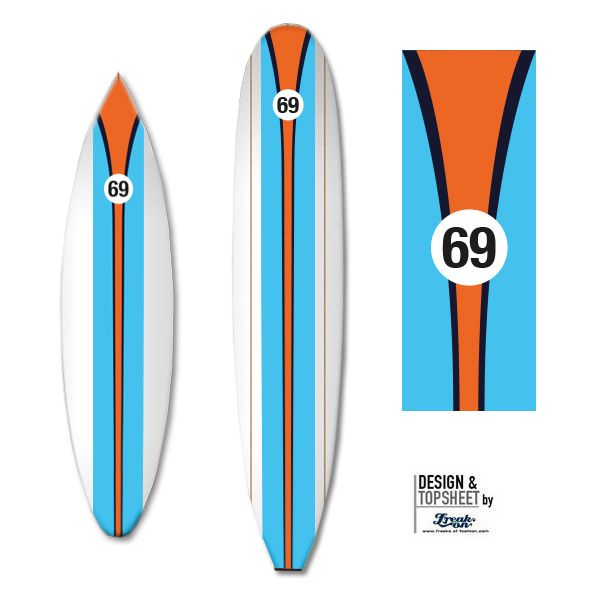 Classic #Surfboard design, you remember GULF?!