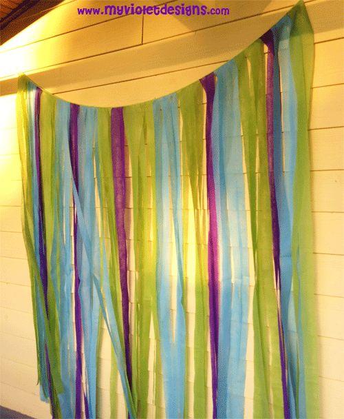 Las 25 mejores ideas sobre cortinas de tiras de tela en - Como hacer cortinas de tiras ...