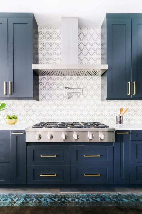25 best ideas about navy cabinets on pinterest navy for Navy blue granite countertops