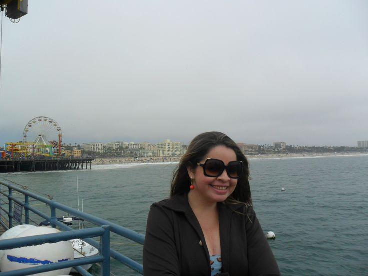 Pier de Santa Mônica - Lugar mais legal do mundo! #blogalmocodesexta #ASviaja