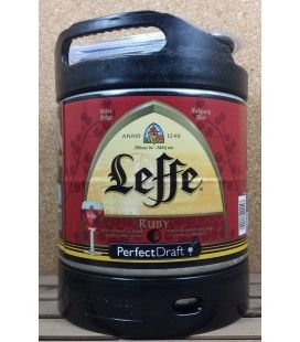 Leffe Ruby 6 L Keg Perfect Draft
