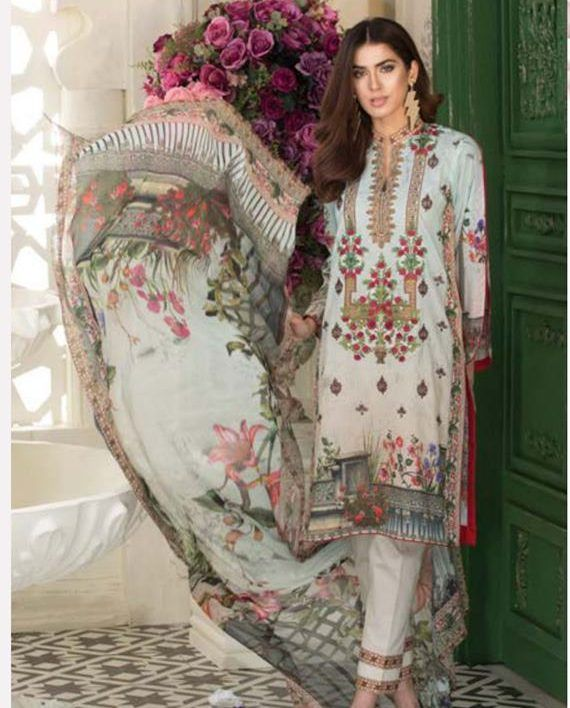 ccf210a66d Nur printed lawn collection 2018 Archives - Umar Poshak Mehal | Nur ...