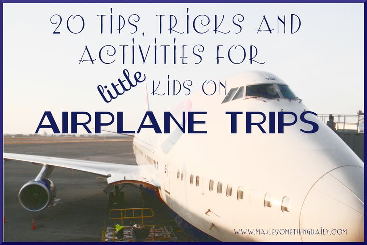 Make Something Daily: Tips for Surviving Airplane Travel with Kids