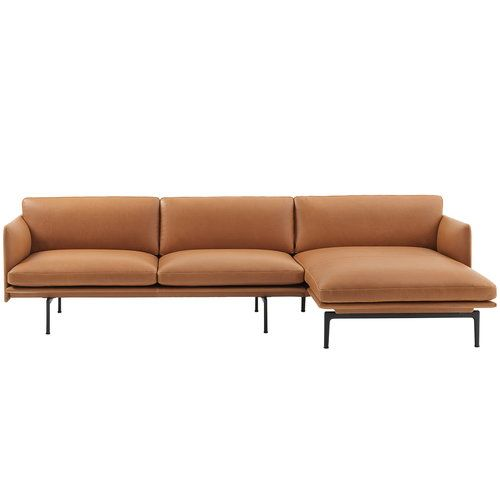 Muuto Outline Chaise Longue Right Designed By Andersson Voll Scandinavian Nordic Modern Furniture Sofa Divani Salotto Sedie