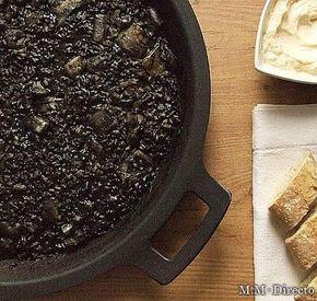 Receta de arroz negro