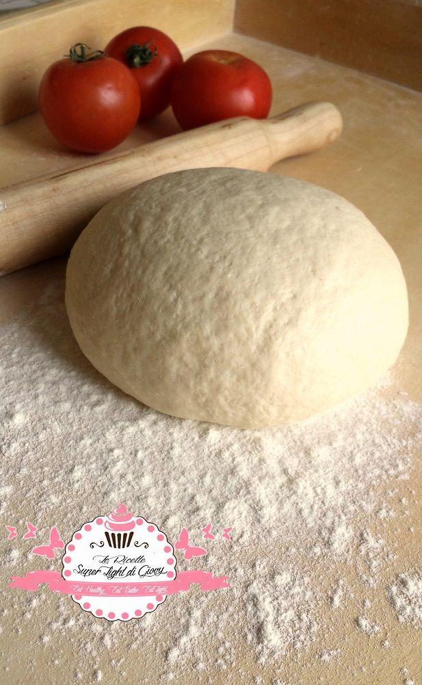 Impasto per pizza leggero, perfetto per chi è a dieta o per chi vuole mangiare più leggero!
