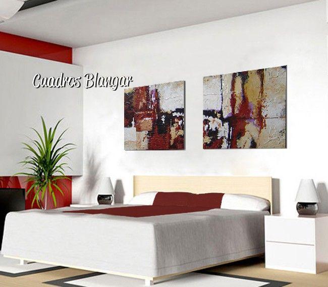 dptico de grandes dimensiones posiblemente una de las mejores soluciones para darle el toque final a la decoracin de tu dormitorio saln - Cuadros Grandes Dimensiones