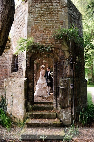 Romantic Wedding in Slaugham Place's Extraordinary Ruins