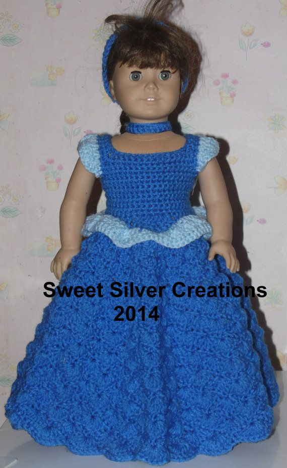 18 inch American Girl Crochet Pattern  by SweetSilverCreations