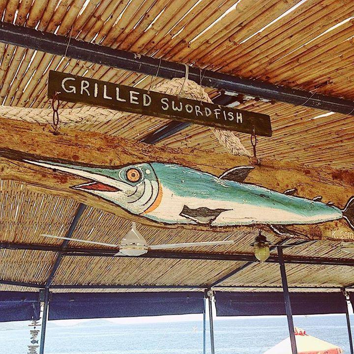 The fishermen are busy providing fresh seafood daily in the village of Agios Nikolaos.  #greece #peloponnese #greeceis #wanderlust #wonderlust #reasonstovisitgreece #handofgreece #bbctravel #everydayphotos_greece #authenticgreece #photooftheday #vsco #travelgreece #exploregreece #instagreece #vscogreece #realgreece #vsco #vscogreece #ig_world_colors #greichenland #agiosnikolaos #manipeninsula #morea #greekfood #fishing #fish #swordfish  #fishingvillage