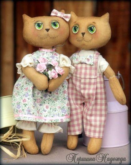 Ароматизированные куклы ручной работы. Ярмарка Мастеров - ручная работа Весенние влюблённые. Handmade.