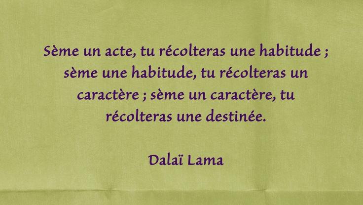 Citation - Dalaï Lama
