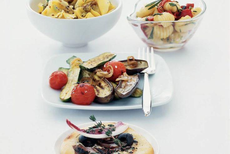 Kijk wat een lekker recept ik heb gevonden op Allerhande! Gnocchi met Italiaanse kruiden en geroosterde paprika