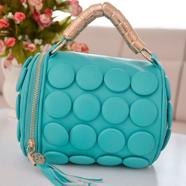 #turquoise  #circle  #sweetbag
