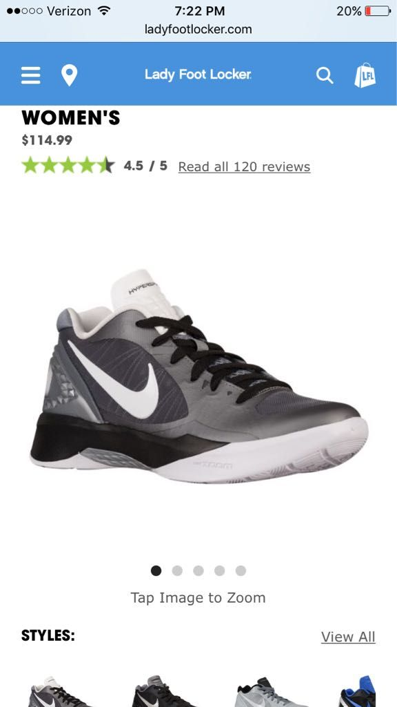 Nike volleyball shoes | @giftryapp