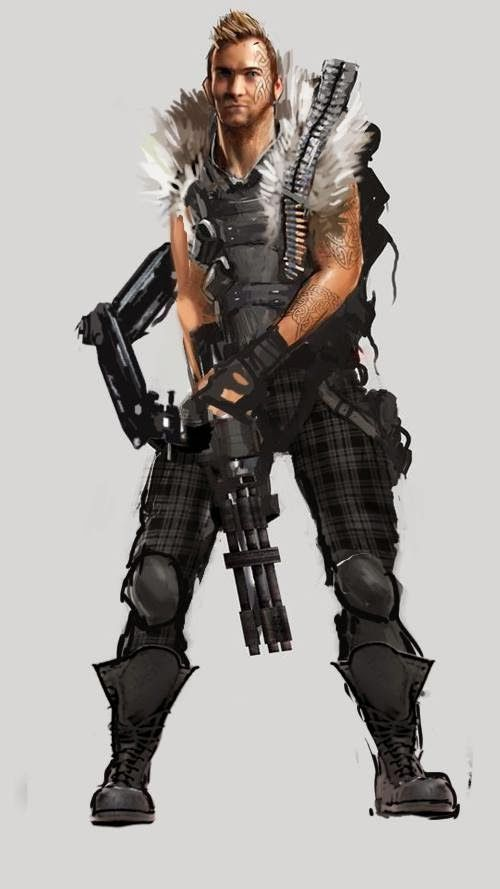 shadowrun character - Google Search