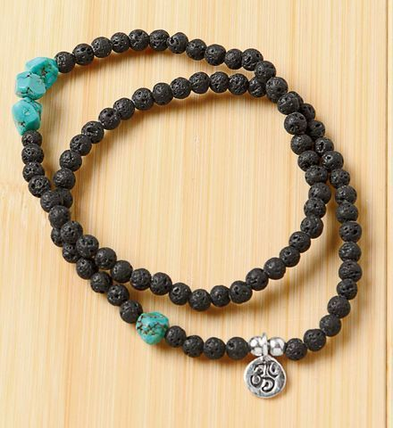 Gaiam Lava Rock Meditation Bracelets on shopstyle.com