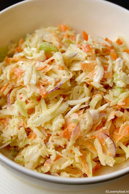 Amerikaanse coleslaw - Lovemyfood.nl