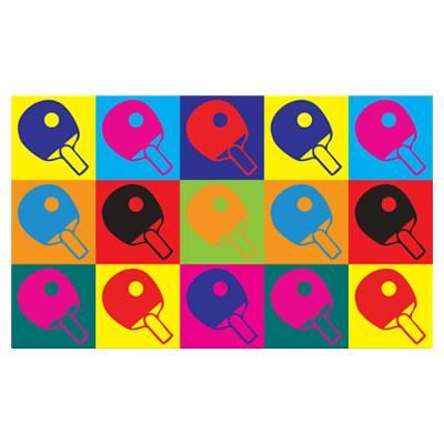 table tennis pop art poster tt pinterest pop art posters art posters and tennis. Black Bedroom Furniture Sets. Home Design Ideas