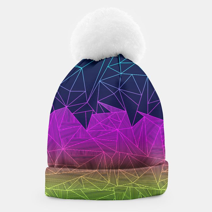 BAILEY RAYS hat by Fimbis    _____    ___________________________________   #headwear #wrapup #winter #xmas #festive #pattern #winteriscoming ___________________________________ A simple yet stylish beanie with a white pompon designed by you and for you. This winter you are going to look exceptional!Manufactured manually in Europe with best materials available, and printed with unique image of your choice! Live Heroes guarantees the highest quality of all products purchased.