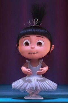 *AGNES ~ Despicable Me, ....She is cute in anything