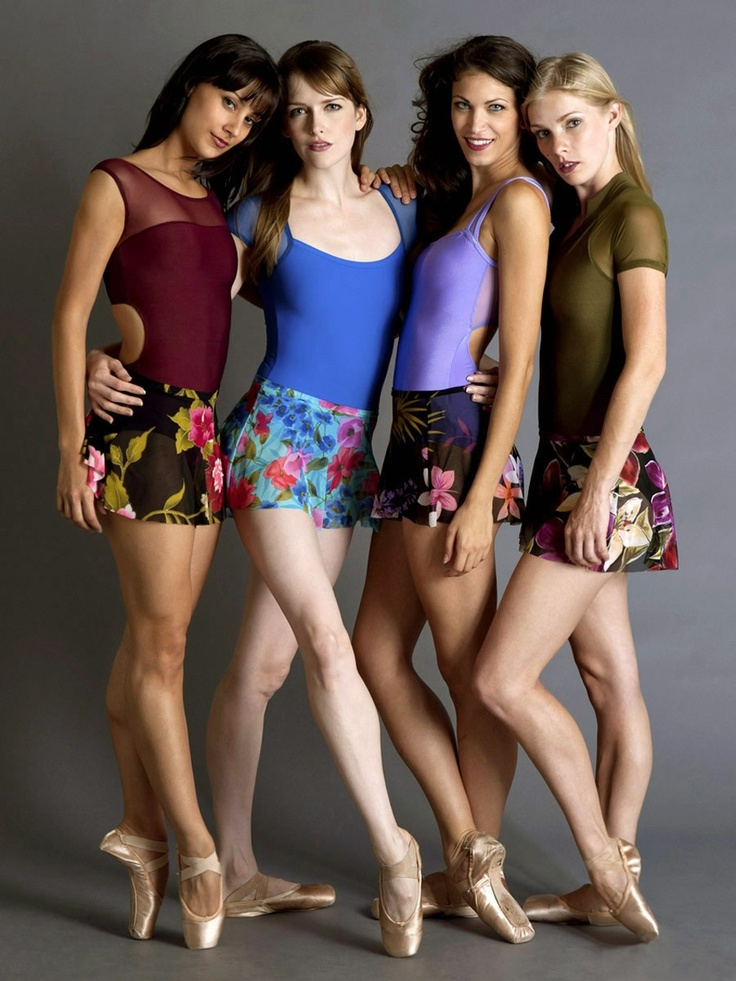 Gorgeous Eleve Leotards and Skirts   ♥